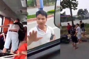 Côn đồ ngang nhiên nhảy lên xe hành hung dã man tài xế xe khách ở Phú Thọ