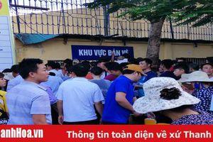 Sân Thanh Hóa đón 'cơn sốt vé' và số lượng khán giả đông nhất kể từ đầu mùa