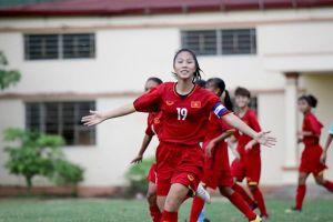 Dự tuyển nữ QG giành ngôi Á quân giải U16 Quốc gia 2019