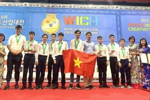 Học sinh Việt Nam giành giải đặc biệt với các phát minh sáng chế tốt nhất