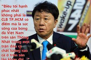 Khi thầy Chung, thầy Park cùng hạnh phúc trên sân Thống Nhất
