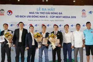 Giải vô địch U18 Đông Nam Á có đơn vị đồng hành
