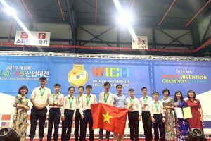 Học sinh Việt Nam giành Huy chương Vàng WICO 2019