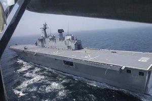 Hàn Quốc điều tàu chiến tới eo biển Hormuz
