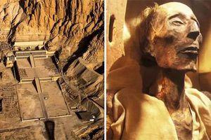 Bí ẩn xác ướp pharaoh còn nguyên vẹn trong cổ mộ hoàng gia Ai Cập