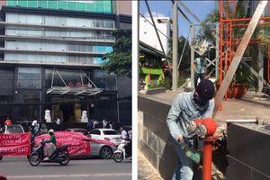 Chung cư La Bonita lại bị phạt và cưỡng chế vì xây dựng sai phép quán cà phê Katinat