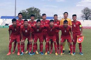 U15 Việt Nam thắng trận đầu ở giải U15 Đông Nam Á