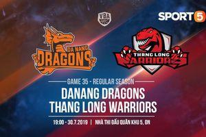 Chung mục tiêu tấm vé cuối, Thang Long Warriors quyết tử tại sân nhà Danang Dragons