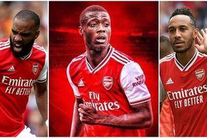 Đội hình có sức tấn công 'cực khủng' của Arsenal khi sở hữu Nicolas Pepe