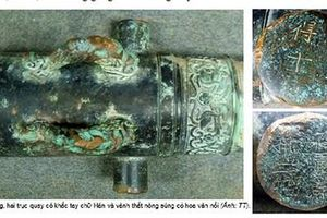 Khẩu thần công tìm thấy ở Đà Nẵng có tuổi đời khoảng 350 năm