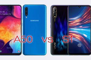 Samsung A50 và Vivo S1: Smartphone nào 'vô đối' tầm giá 7 triệu?