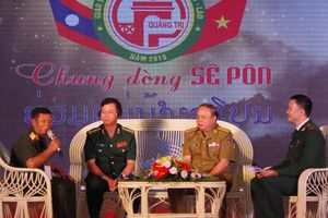 Thắm tình hữu nghị biên giới Việt – Lào với chủ đề 'Chung dòng Sê Pôn'