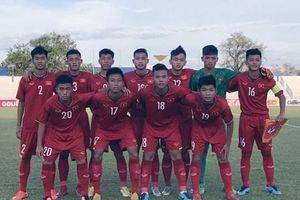 Việt Nam có chiến thắng đầu tay tại giải U15 Đông Nam Á 2019