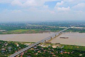 Cận cảnh cầu Hưng Hà gần 3000 tỷ nối liền Hưng Yên – Hà Nam