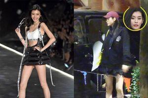Chân dài Victoria's Secret lộ bụng bầu dấy lên tin đồn 'ăn cơm trước kẻng' với con trai vua sòng bạc Macau