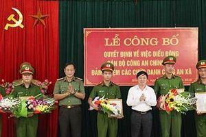 Thái Nguyên: Thêm 4 xã được triển khai Công an chính quy
