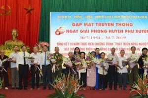 Phú Xuyên phấn đấu đạt huyện nông thôn mới vào năm 2020
