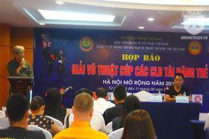 Bật mí về 'Đại hội Võ lâm trẻ' Hà Nội, hội tụ 1.600 quần hùng