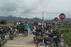 Tai nạn giao thông đường sắt nghiêm trọng, ba người chết