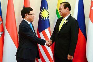 Hoạt động của Phó Thủ tướng Phạm Bình Minh tại AMM 52 và các Hội nghị liên quan