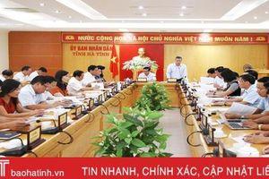 Hà Tĩnh triển khai kịp thời các nghị quyết, chủ động thực hiện các nhiệm vụ chính trị