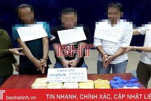 Ban Thường vụ Tỉnh ủy khen BĐBP Hà Tĩnh phá vụ án 62 ngàn viên ma túy