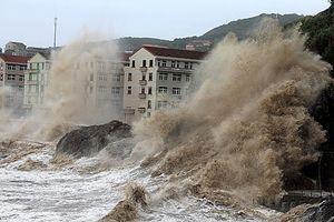 Bão giật cấp 10, hướng thẳng vùng biển Quảng Ninh – Hải Phòng