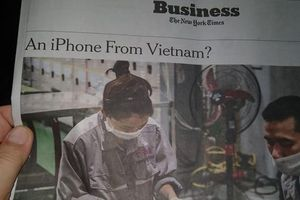 iPhone thế hệ tiếp theo có thể được sản xuất tại Việt Nam?