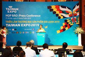 Hơn 170 doanh nghiệp tham gia triển lãm Taiwan Expo 2019 ở Hà Nội