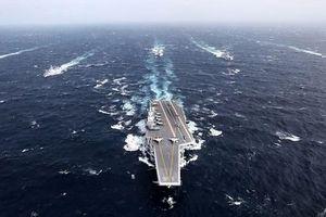 35 tàu Trung Quốc hộ tống Hải Dương 8 trên Biển Đông?