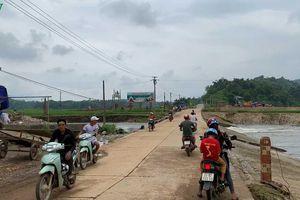 Một phụ nữ mất tích khi vượt ngầm tràn ở Lào Cai