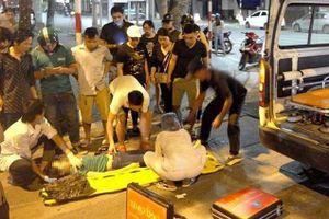 Nam thanh niên bị xe buýt cán tử vong ở Sài Gòn