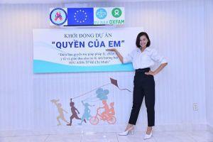 Top 10 Hoa hậu Hoàn vũ Việt Nam Lê Thu Trang đòi quyền lợi cho trẻ nhiễm HIV/AIDS