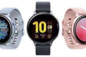 Galaxy Watch Active lộ diện ba phiên bản màu sắc