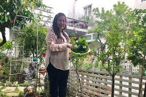 'Gương vỡ lại lành', vợ chồng NSND Hồng Vân tậu biệt thự hoa hồng trồng mướp, bưởi