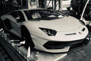 Lamborghini Aventador SVJ đầu tiên về Việt Nam, giới mê xe tha hồ đoán màu sắc