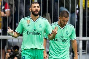 Real Madrid 5-3 Fenerbahce: Benzema che mờ Hazard