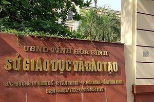 Xem xét kỷ luật 3 Giám đốc Sở ở Hòa Bình có con được nâng điểm thi THPT quốc gia