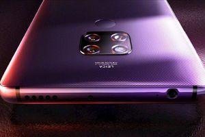 Huawei Mate 30 trang bị hai camera 40MP phía sau