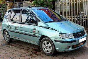 Xe đa dụng Hyundai Matrix 13 năm tuổi giá 215 triệu đồng