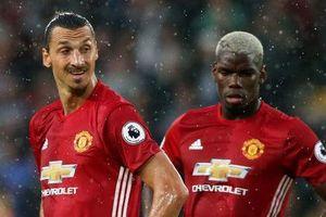 Ibrahimovic muốn MU bán Pogba