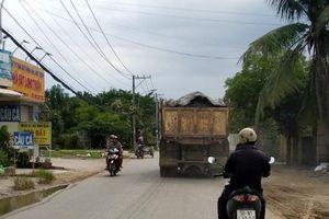 Tại quận 9, TP Hồ Chí Minh: Xe quá tải ngang nhiên tung hoành