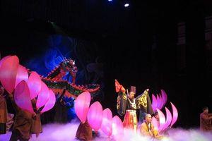 'Huyền thoại Gò rồng ấp': Những cố gắng lớn của sân khấu Lệ Ngọc