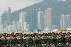 Quân đội Trung Quốc cảnh báo người biểu tình Hồng Kông