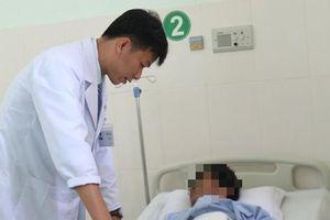 Khẩn cấp cắt toàn bộ lá lách để cứu công nhân bị tai nạn lao động
