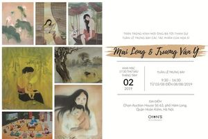 Cuộc hội ngộ sắc màu của họa sĩ Mai Long và Trương Văn Ý