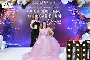Công ty Dova bùng nổ doanh số tháng 8 cùng Nữ Hoàng Kim Cương Nguyễn Hoan