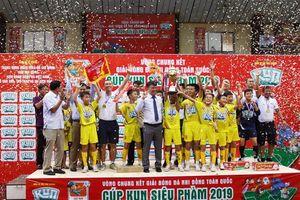 U11 SLNA lên ngôi thuyết phục, giành hat-trick vàng về cho bóng đá trẻ xứ Nghệ