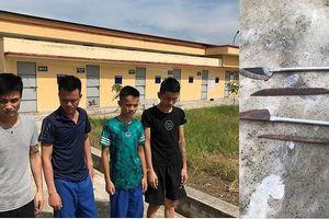 Nhóm trai làng vác dao truy đuổi 2 thanh niên để cướp xe máy ở Thái Bình?
