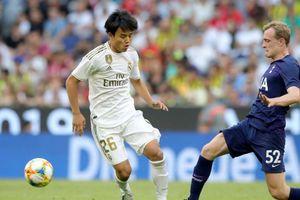 HLV Real tiết lộ kế hoạch dành cho 'Messi Nhật Bản'